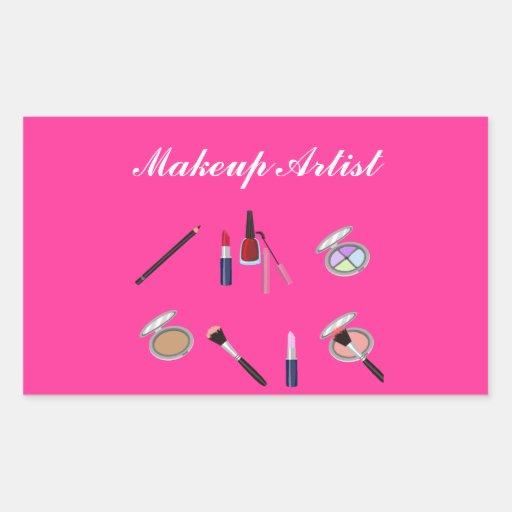 Makeup Artist Sticker