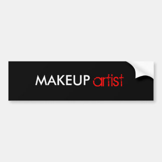 Makeup artist stickers
