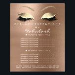 "Makeup Beauty Salon Gold Glitter Flyer Coffe Lux<br><div class=""desc"">florenceK luxury beauty salon colletion</div>"