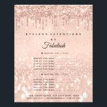 "Makeup Beauty Salon Rose Glitter Flyer Prices1<br><div class=""desc"">florenceK luxury beauty salon colletion</div>"
