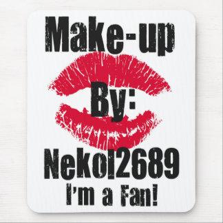 Makeup by nekol2689 im a fan mouse pad