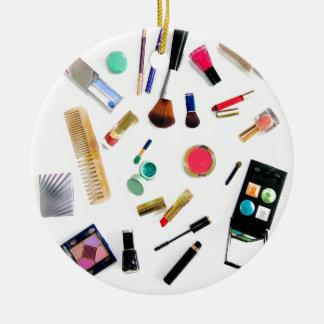 Makeup Ceramic Ornament