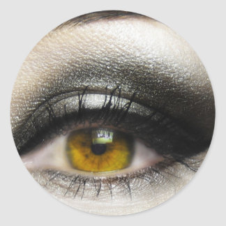 makeup Cosmetics Eye Classic Round Sticker