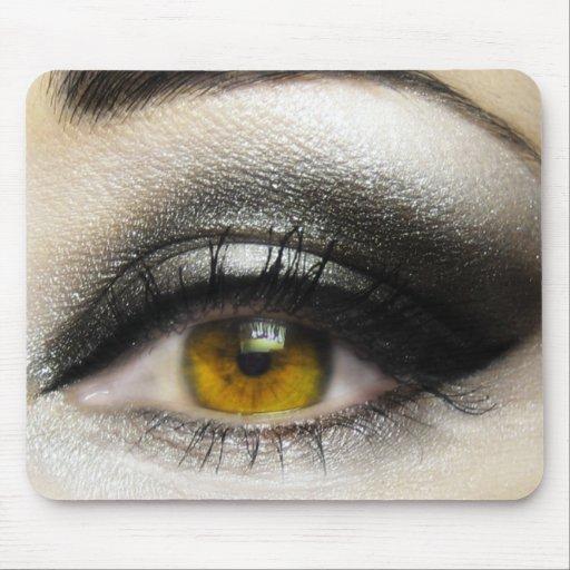 makeup Cosmetics Eye Mouse Pad