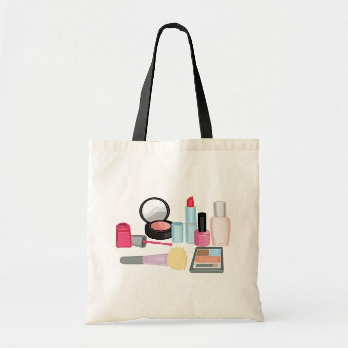 Makeup Cosmetics Tote Bag Zazzle Com