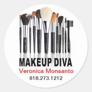 Makeup Diva for Makeup Artists Sticker