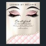 "Makeup Eye Lash Brow Beauty Flyer<br><div class=""desc"">by JoSunshine 2019</div>"