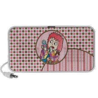 Makeup Girl Mini Speaker