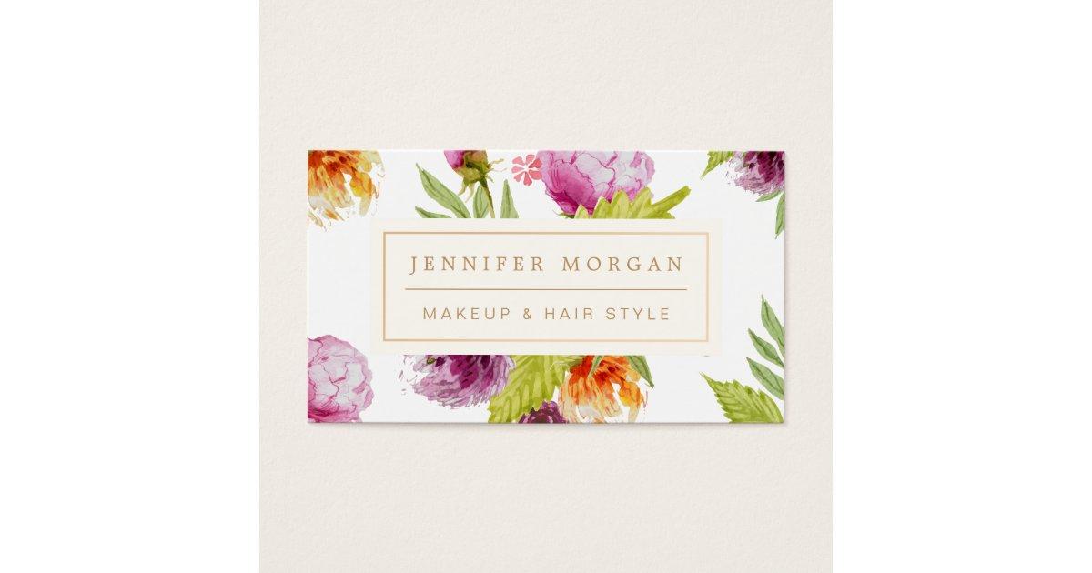 Feminine Business Cards & Templates | Zazzle