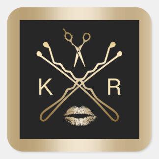 Hair stylist stickers zazzle for Stickers salon