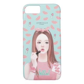 Makeup Jennie iPhone 7 case