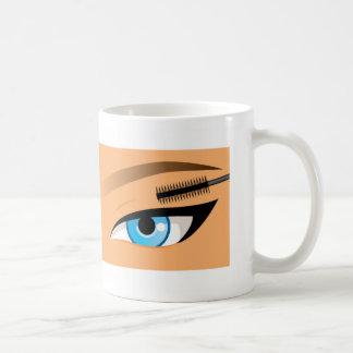 Makeup - Lipstick And Mascara Coffee Mugs
