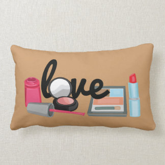 Makeup love Decorative Throw Pillow