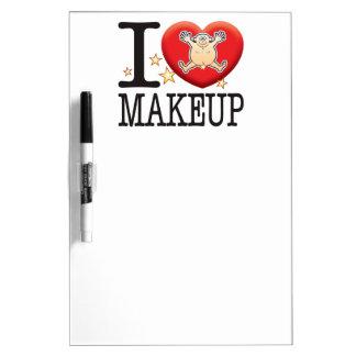 Makeup Love Man Dry-Erase Whiteboard