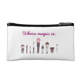 Makeup Makeup Bag at Zazzle