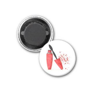 Makeup mascara fashion glamour trendy red magnet