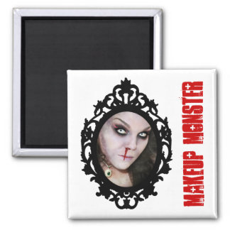Makeup Monster Fridge Magnets
