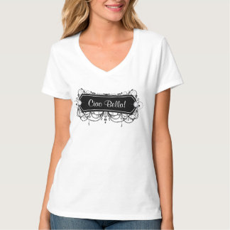 Makeup or Salon Jewelry Frame Uniform T Shirt