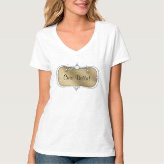 Makeup or Salon Jewelry Frame Uniform Tee Shirt