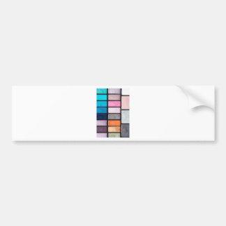 Makeup Palette - Beauty Cosmetics Print Bumper Sticker