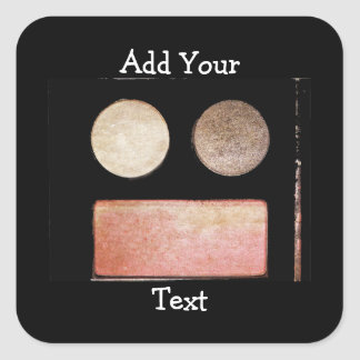 Makeup Palette-Face by Shirley Taylor Square Sticker