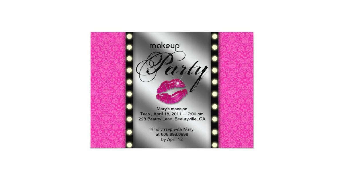 Makeup Party Invitations & Announcements | Zazzle