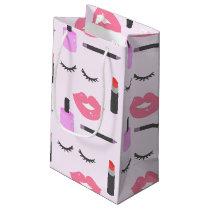 Makeup Pattern Small Gift Bag