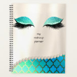 "Makeup Planner Eyelash Design Planner<br><div class=""desc"">Stay on track with this Custom Planner - Track your every move with this planner including free graphic design, to help you get focused during the month and days ahead. Created by JoSunshine Designs Copyright 2018 JoSunshine and LICENSORS. In most cases, all text can be modified. Need help customizing or...</div>"