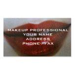 MAKEUP PROFESSIONAL BUSINESS CARD
