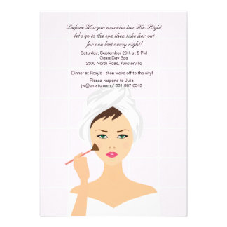Makeup Session and Spa Invitation