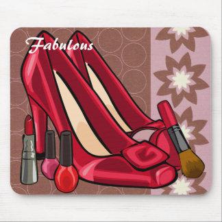 Makeup Shoes Mousepad