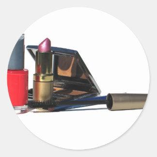 Makeup Classic Round Sticker