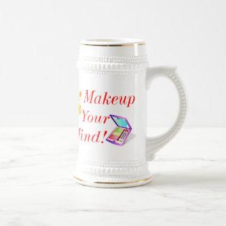 Makeup Your Mind! Beer Stein