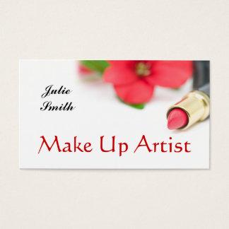 MakeUpArtist Business Card
