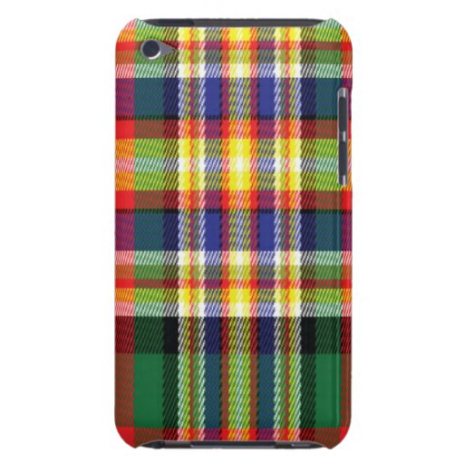 Makgil Scottish Tartan Apple iPod Case Barely There iPod Cases