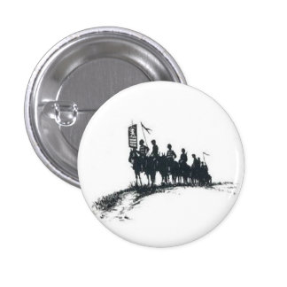 Makhno's Anarchist Army Button