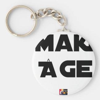 MAKI AGE - Word games - François City Keychain
