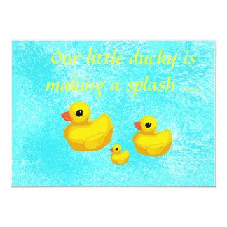Makin' a Splash! Birthday Party Invitations