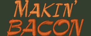 Makin  Bacon Embroidered Baseball Cap 3cd82c18f381