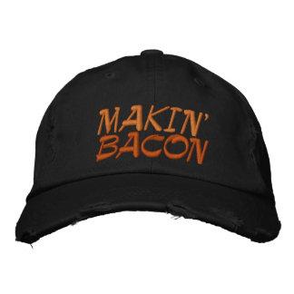 Makin' Bacon Embroidered Baseball Hat