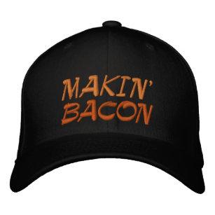 Makin  Bacon Embroidered Baseball Hat dd844967c99f