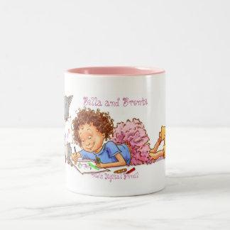 Makin' Cards Two-Tone Coffee Mug