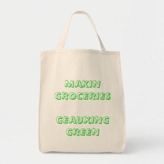 MAKIN GROCERIES TOTE BAGS