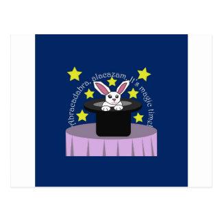 Makin' Magic Bunny Postcard
