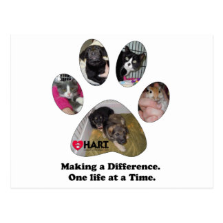 Making a Difference, One Life at a Time. Postcard