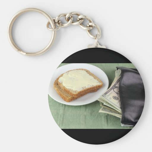 Making a Living, Bread & Butter Key Chain