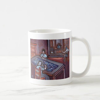 MAKING A PROGGY MAT COFFEE MUG