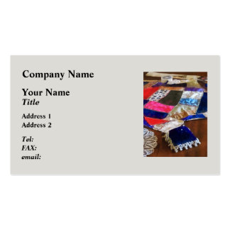 Making a Quilt Double-Sided Standard Business Cards (Pack Of 100)