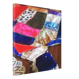 Making a Quilt Canvas Print