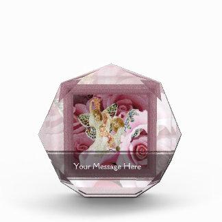 Making a Rose Lei Acrylic Award
